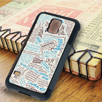 The Fault in Our Stars Qoutes   For Samsung Galaxy S6 Cases   Free Shipping   AH1124