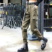 Gia Belted Cargo Pant