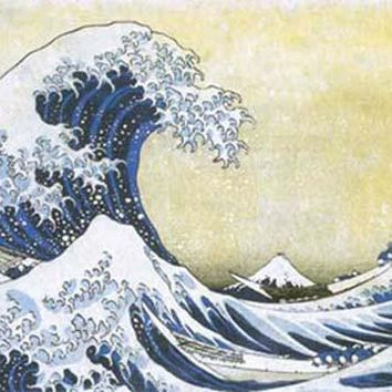Hokusai Great Wave Off Kanagawa XL Giant Poster 39x54