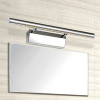 wall mounted stainless steel mirror light