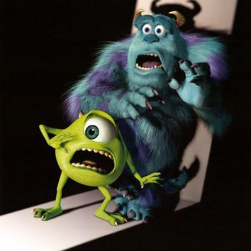 Monsters, Inc. 27x40 Movie Poster (2001)