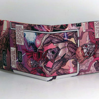 Comic Book Wallet// Guardians of the Galaxy// Star-Lord