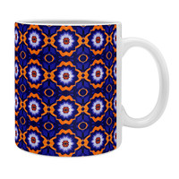 Elisabeth Fredriksson Midnight Flowers Coffee Mug