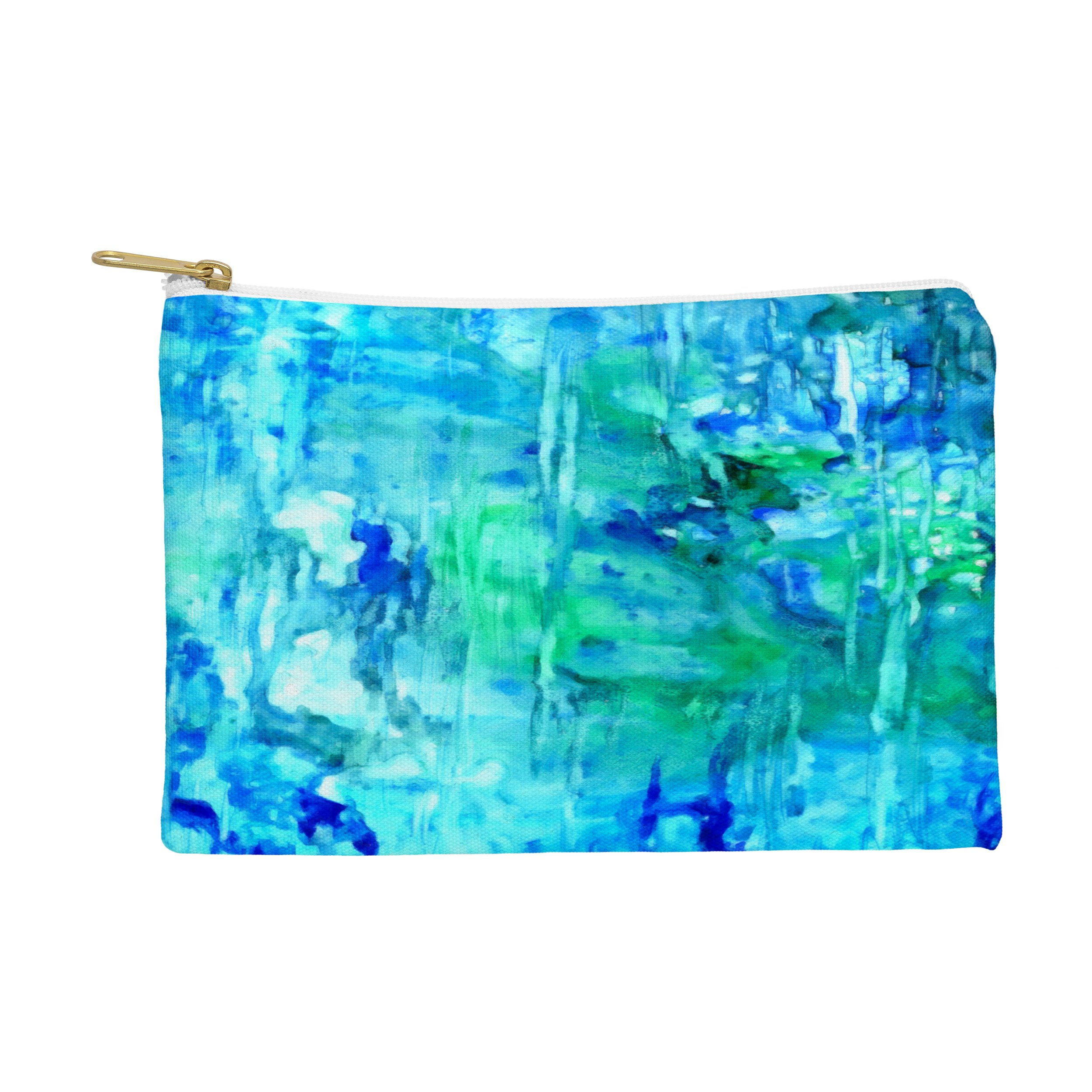 Image of Rosie Brown Blue Grotto Pouch