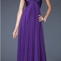 Blue/Purple/Green Prom Dress Bridesmaid FormaL Party Evening Gown6/8/10/12/14/16