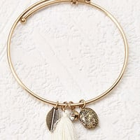 Mixed Charm Bangle