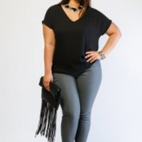 Shop Plus Size Trendy Tops, T-Shirts, Blouses & Tanks − G-Stage