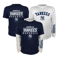 New York Yankees Tee Set - Boys 8-20, Size: