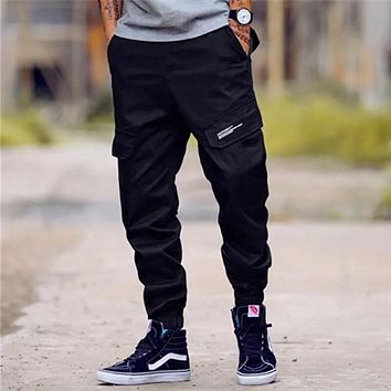 Big Pocket Cargo ~ Hip Hop Pants ~  Big Man Sizes 28-40