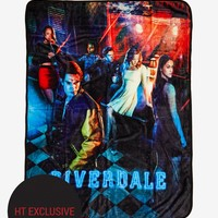 Licensed cool Riverdale Group Pops Diner Throw Blanket Jughead Archie Betty Veronica Hot Topic