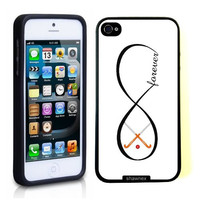 SudysAccessories Field Hockey Forever Field Hockey Infinity Forever Thinshell Case Protective iPhone 5 Case iphone 5S Case