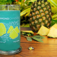 Pineapple Sage Ring Candle