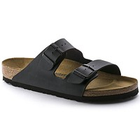 Birkenstock Arizona Birko Flor Black 0051791/0051793 Sandals