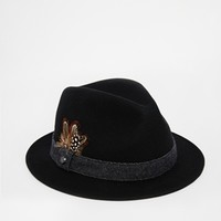 Ted Baker Lilspot Keeper Trilby Hat