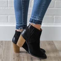 Going My Way Booties - Black