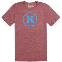 Hurley One & Only Icon T-Shirt - Mens Tee - Red -