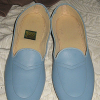 Vintage Womens Slippers Daniel Green Leather