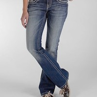 Miss Me Sequin Inset Easy Boot Stretch Jean