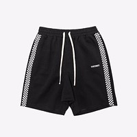 Fortunate Checkerboard Striped Shorts