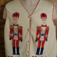 Holiday Nutcracker Funny Ugly Sweater for a Christmas Party