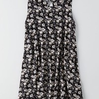 AEO Women's Don't Ask Why Keyhole Back Dress