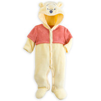 Winnie the Pooh Hooded Romper for Baby