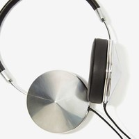Frends Taylor Leather Headphones - Silver
