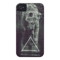 hopping ASTRE wolf iPhone 4 Cases from Zazzle.com