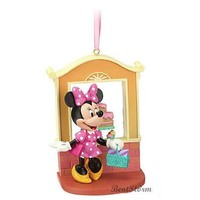 Licensed cool 2012 NEW Disney Store Minnie Mouse Bakery Christmas Holiday Sketchbook Ornament