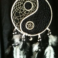 "Yin-yang 7"" Dream Catcher"