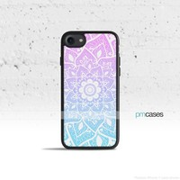 Ombre Mandala Phone Case Cover for Apple iPhone iPod Samsung Galaxy S & Note