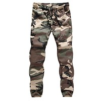 Cargo Pants Men Camouflage Harem Joggers Pockets Loose Hip Hop Trousers Jogger Sweatpants Male Size Pants pantalones hombre