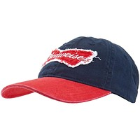 Budweiser - Bow Tie Logo Adjustable Baseball Cap