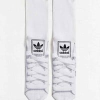 adidas Originals Superstar Sneaker Sock- Black One