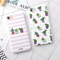 Case Cover For iPhone 7 6 6s Plus Rubber Soft Phone