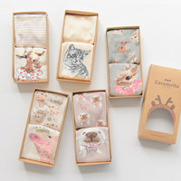 Box Animal Lovely Style Box Set Socks [9259021892]