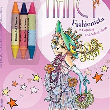 Fancy Nancy Fashionista: A Coloring and Activity Book (Fancy Nancy)