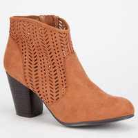 QUPID Sake Womens Booties | Boots