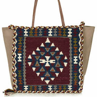 TAPESTRY AND CANVAS BAG