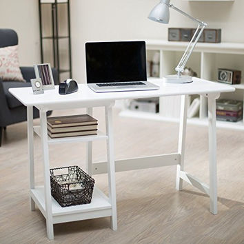 Manhattan Computer Desk with Adjustable Shelf