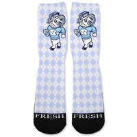 UNC Tarheels North Carolina Custom Athletic Fresh Socks