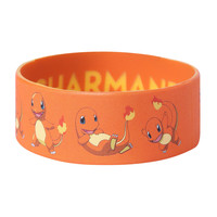 Pokemon Charmander Rubber Bracelet
