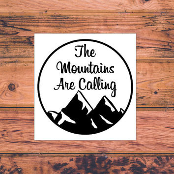 Camping Decal   Adventure Decal   Adventure Arrow Decal   Adventurous Decal   The Mountains Are Calling   Adventure Awaits   Wanderlust  364