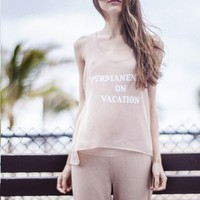 Karma For A Cure Vacation | Knit Tank Top