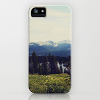 Lake Irwin iPhone & iPod Case by Teal Thomsen Photography