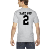 Hate You 2 - V-Neck T-shirt