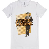 Austin Cutout-Female White T-Shirt