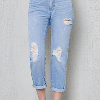 PacSun Clearwater Mom Jeans at PacSun.com