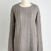 Mid-length Long Sleeve That's so Hearth-warming Sweater