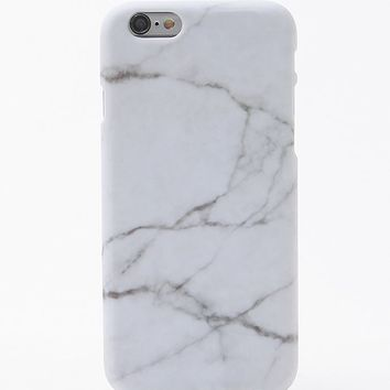 LA Hearts Marble iPhone 6 Case - Womens Scarves - White - One